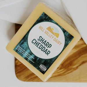 Hill Valley Dairy cheese cheddar sharp