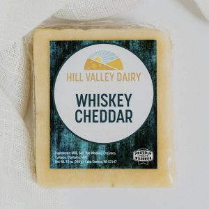 Hill Valley Dairy cheese cheddar whiskey