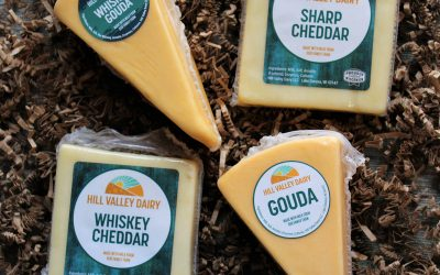 The Socialite: Original and Whiskey Cheddars and Goudas